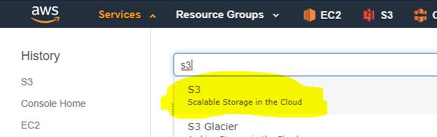 Amazon Glacier Restore - AWS Console S3